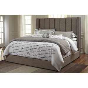 Gutshall Upholstered Platform Bed by Brayden Studio®