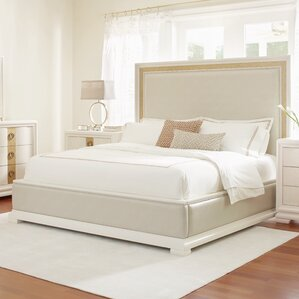 Recinos Upholstered Panel Bed by Mercer41