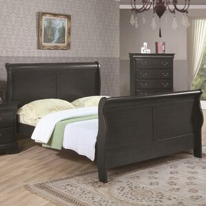 Caldello Sleigh Bed by Darby Home Co®