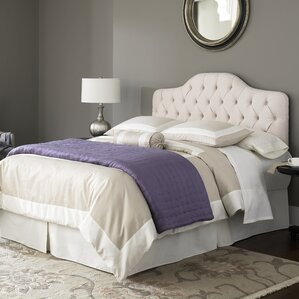 Hanley Upholstered Panel Bed by Three Posts