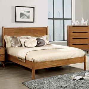 Mason Mid-Century Modern Platform Bed by Mercury Row®