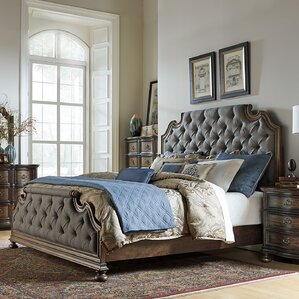 Giffard Upholstered Panel Bed by Astoria Grand