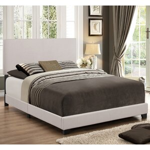 Empire Upholstered Panel Bed by Crown Mark