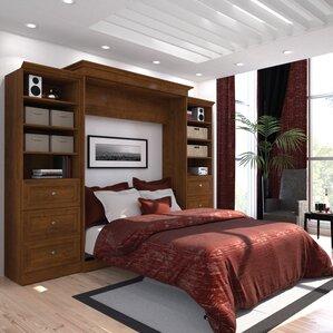 Amaker Queen Murphy Bed by Mercury Row®