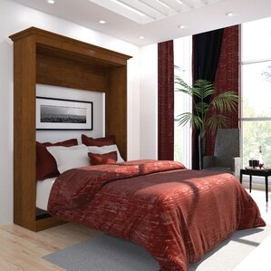 Amaker Storage Murphy Bed by Mercury Row®