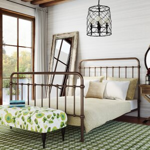 Walnut Grove Panel Bed by August Grove®