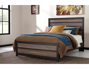Arjun Panel Bed by Mercury Row®