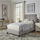 Kipp Upholstered Panel Bed by House of Hampton