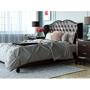 Upholstered Platform Bed by House of Hampton