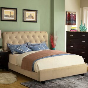 Upholstered Platform Bed by Hokku Designs