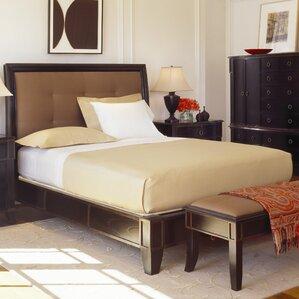 Metropolitan Upholstered Platform Bed by Brownstone Furniture