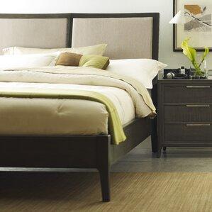 Messina Upholstered Platform Bed by Brownstone Furniture