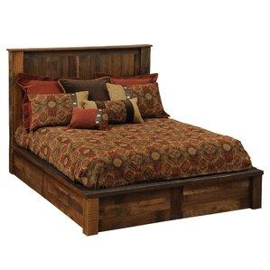 Barnwood Platform Bed by Fireside Lodge