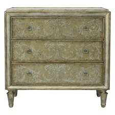 Berry 3 Drawer Chest by Astoria Grand