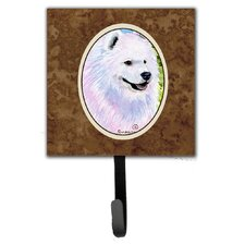 Samoyed Leash Holder and Wall Hook by Caroline's Treasures
