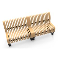 Nova C Wood Bench (Set of 2) by Green Furniture Concept