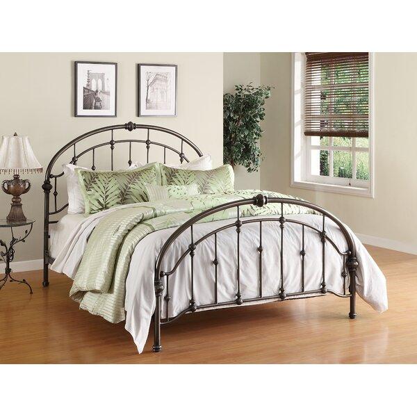 alcott hill homestead queen metal bed reviews wayfair - Queen Iron Bed Frame