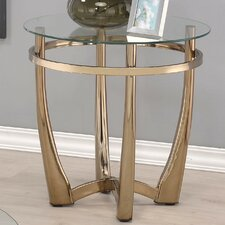 Orlando II Clear Glass End Table by ACME Furniture