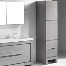 Vicenza 18 W x 76 H Linen Tower by Madeli