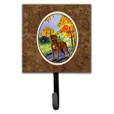 Chesapeake Bay Retriever Leash Holder and Wall Hook by Caroline's Treasures
