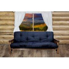 Aida 34 Brown Cotton Full Futon Mattress by Loon Peak