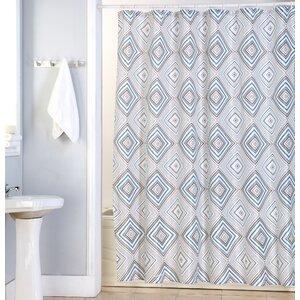 Kaitlyn Canvas Shower Curtain Kashi Home