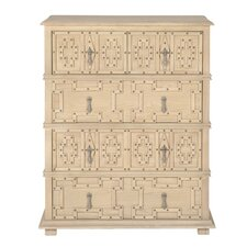 Bella Morocco Storage High 5 Drawer Chest by Orient Express Furniture