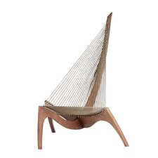 The Harp Lounge Chair by Stilnovo