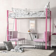 Bunk Bed with Cushions by Viv + Rae