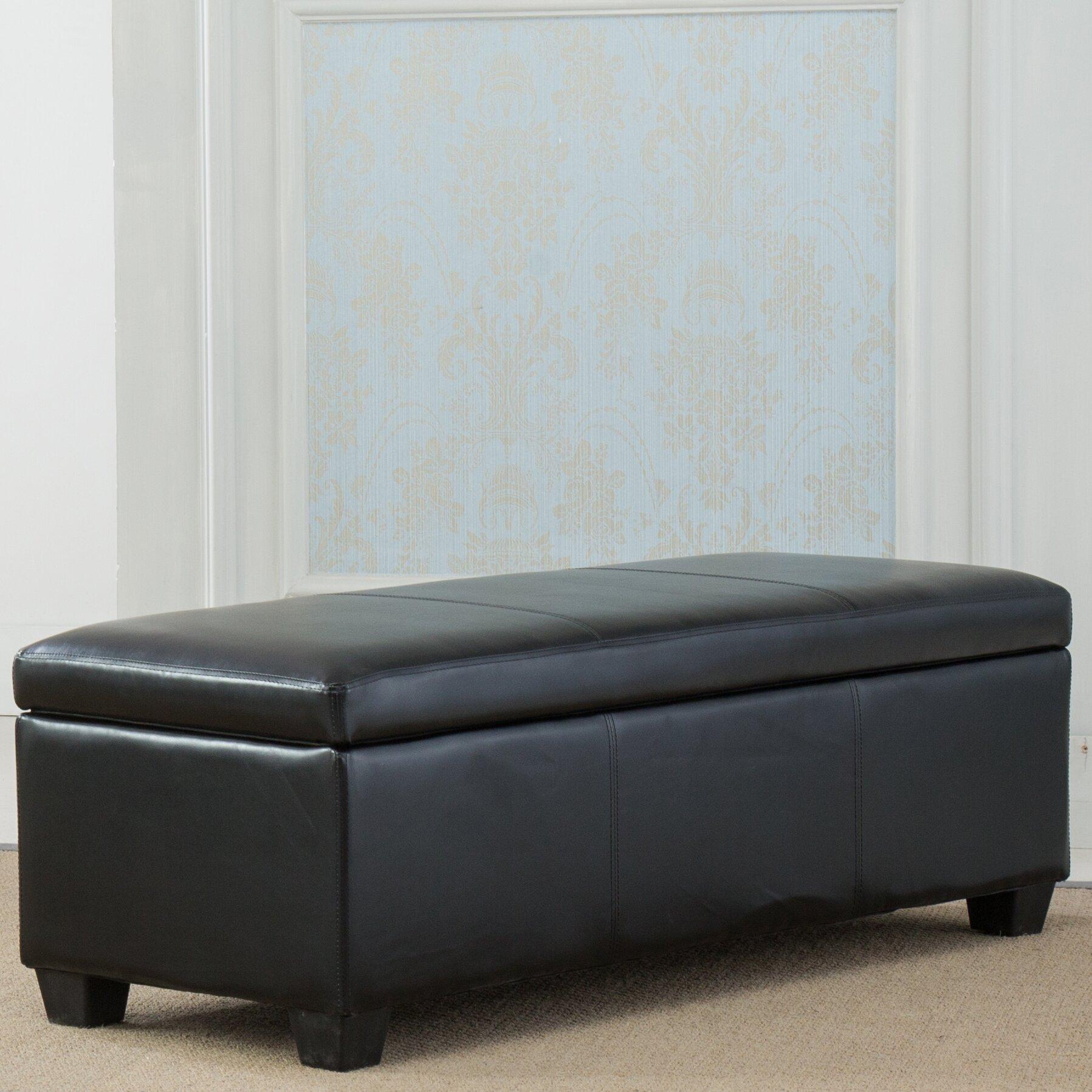 Belleze Upholstered Storage Bedroom Bench Reviews