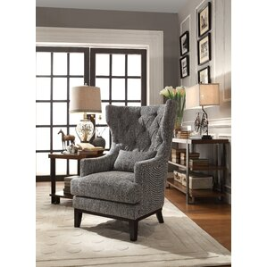 wingback accent chairs you'll love | wayfair