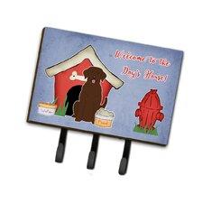 Dog House Labrador Leash or Key Holder by Caroline's Treasures