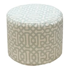Sunbrella Outdoor/Indoor Pouf Ottoman by Core Covers