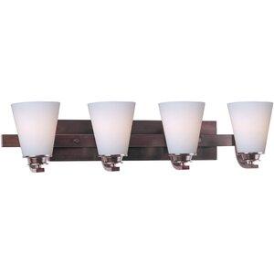 Conical 4-Light Vanity Light Maxim Lighting
