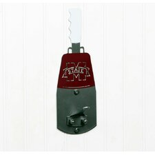 Mississippi State University Cowbell Wall Mounted Coat Hook by Henson Metal Works