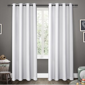 tamara sheer grommet curtain panels set of 2