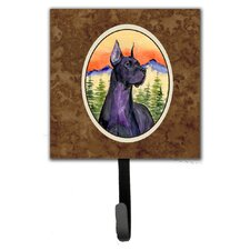 Great Dane Leash Holder and Wall Hook by Caroline's Treasures