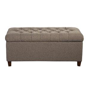 Halvorson Fabric Storage Bedroom Bench by Andover Mills