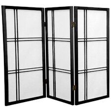 35.75 Boyer Screen 3 Panel Room Divider by Mistana