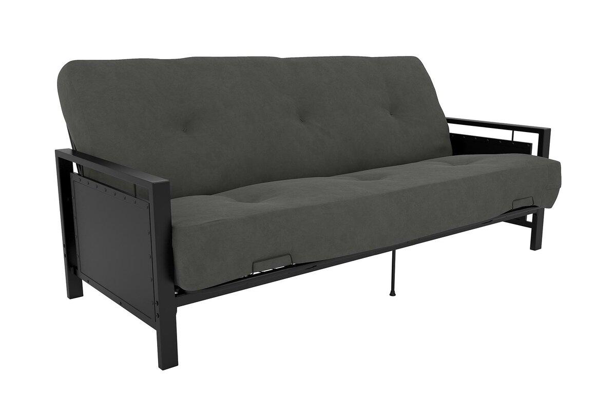 Black futon frame - Default_name