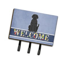 Labrador Welcome Leash or Key Holder by Caroline's Treasures