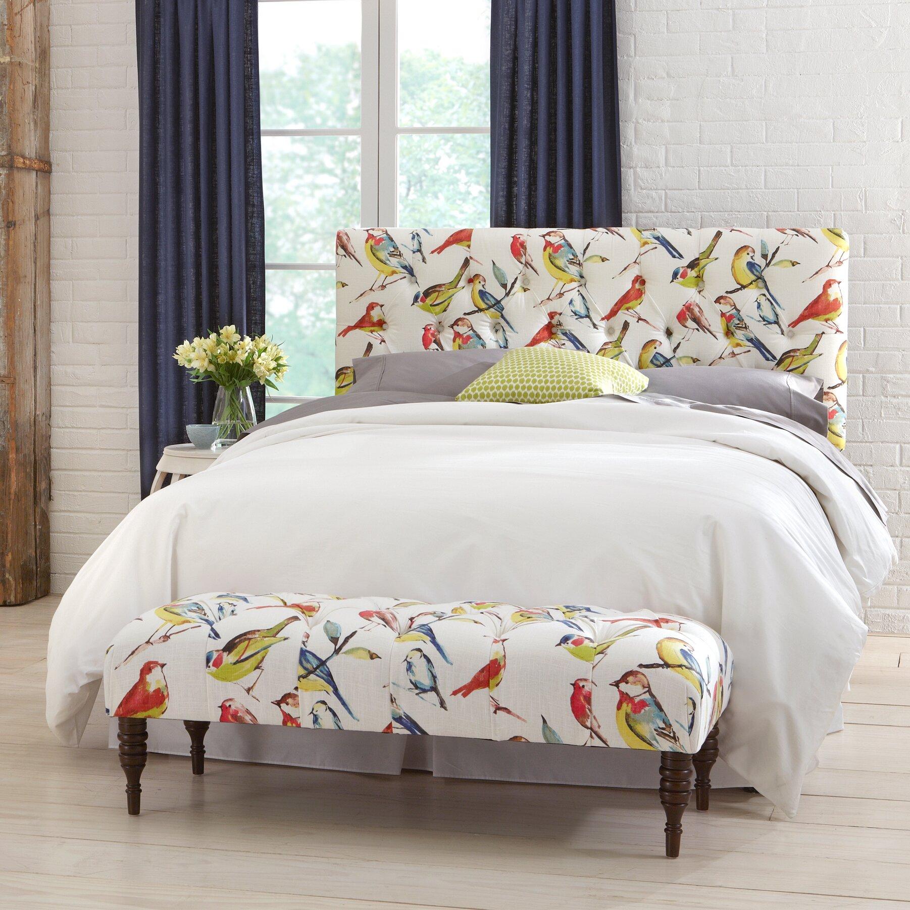 PRI Upholstered Tufted Bedroom Bench Reviews Wayfair. Bedroom ...