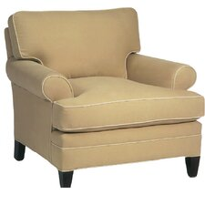 Loose Pillow Back Armchair by Classic Comfort