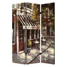 72 x 48 European Promenade 3 Panel Room Divider by Screen Gems