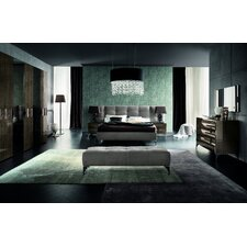Queen Upholstered Platform Bed by Rossetto USA