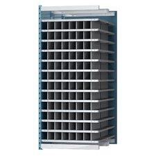 Deep Bin 87 H Thirteen Shelf Shelving Unit Add-on by Hallowell