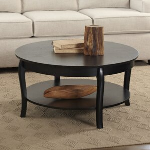Charming Alberts Round Coffee Table