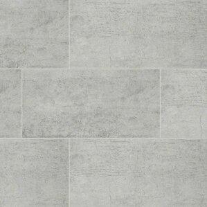 White Ceramic Floor Tile 12x12 Ourcozycatcottage