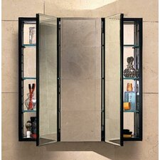"PL Series 36"" x 30"" Recessed or Surface Mount Medicine Cabinet"