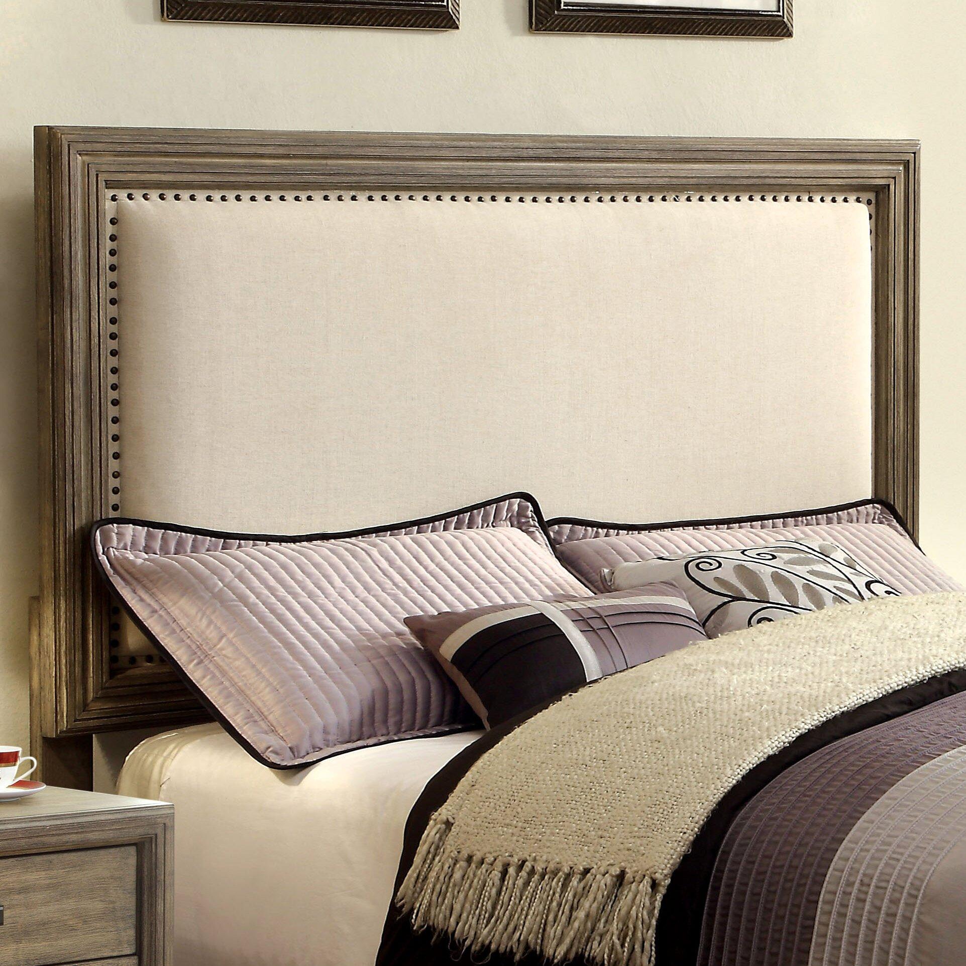 Laurel foundry modern farmhouse astille upholstered panel - Laurel foundry modern farmhouse bedroom ...